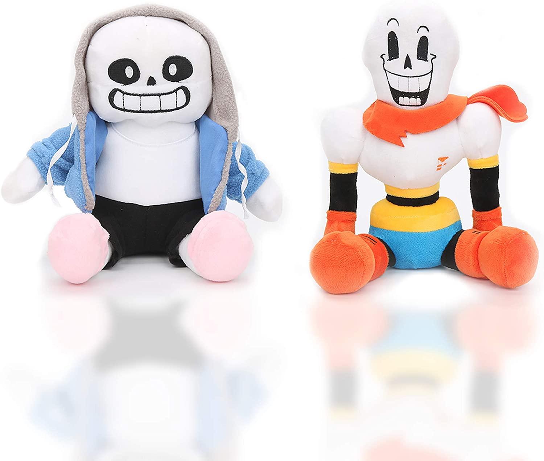 Sans plush stuffed dolls (Sans and Papyrus) plush stuffed toys Christmas gifts for children