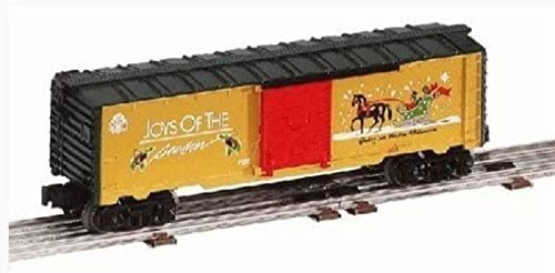Lionel Trains Christmas Holiday RAILSOUNDS BOXCAR 26718