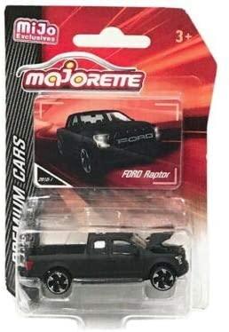 New DIECAST Toys CAR MAJORETTE 1:64 Premium Cars - Ford Raptor F-150 (Matte Black) - MIJO Exclusives 3052MJ