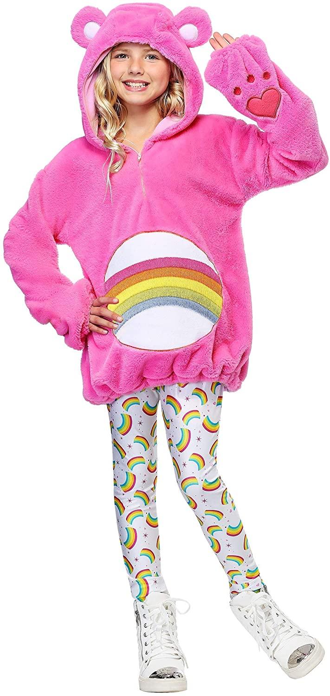 Care Bears Deluxe Cheer Bear Tween Hoodie Costume