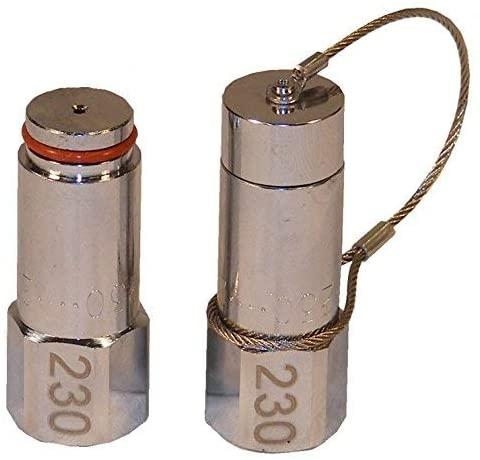 ANSUL R-102 230 FIRE SUPPRESSION NOZZLES NEW STYLE W/ FREE METAL CAP #439842 (230)