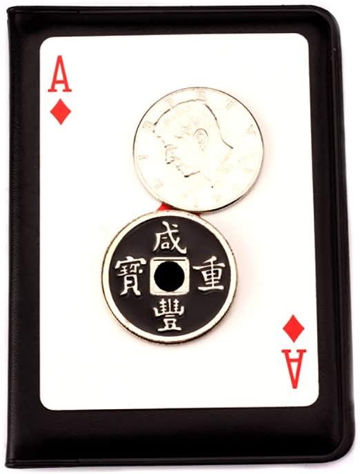 Enjoyer Lethal Tender Coin Magic Tricks Coins Magic Gimmick Magician Accessories Close Up Magic Props Illusions
