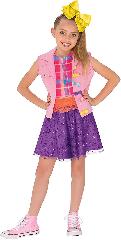 Rubie's JoJo Siwa Boomerang Music Video Outfit Costume, Multicolor, Medium