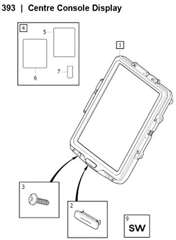 Volvo 2016 XC-90 Centre Display Screen Protector