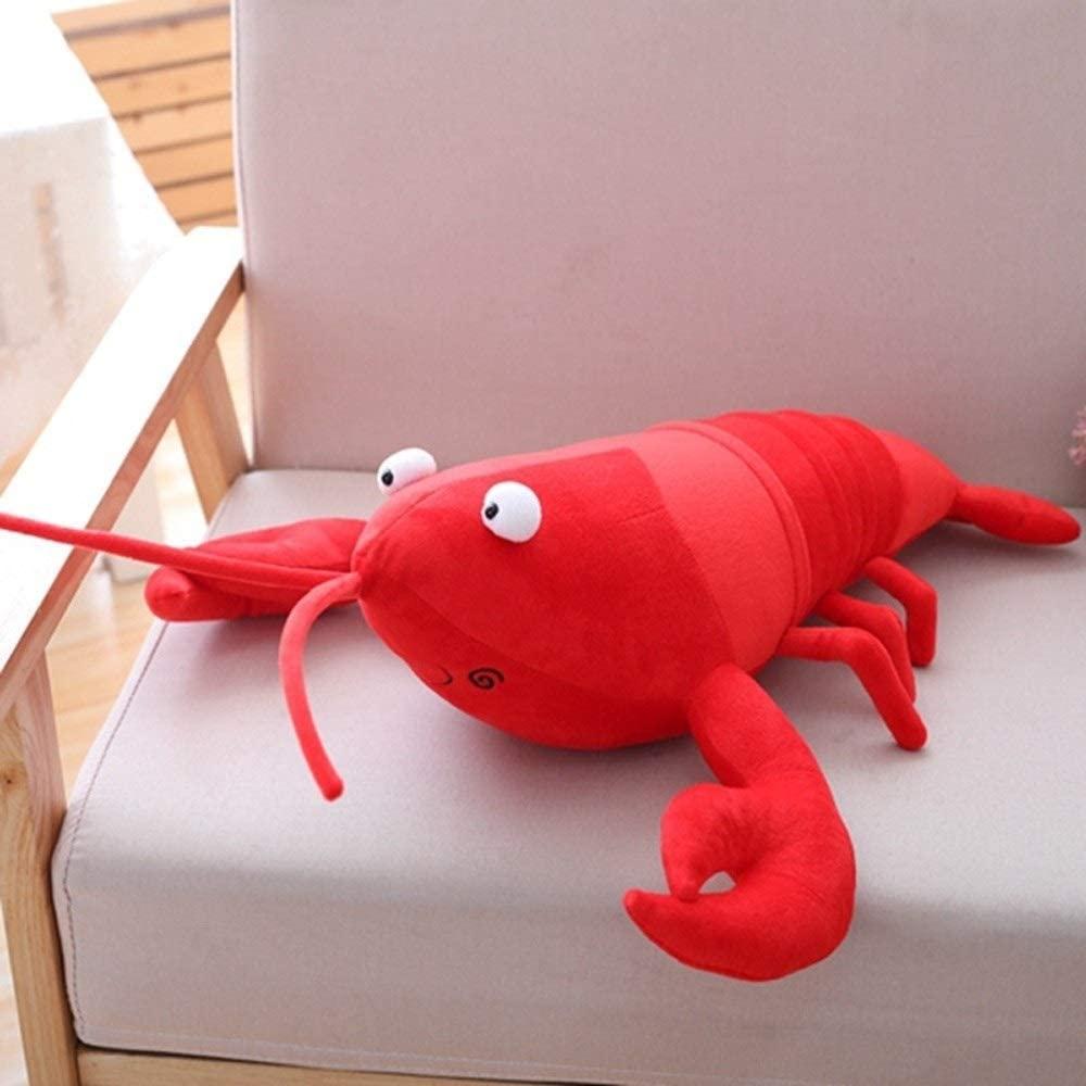 Stuffed Animals & Plush Toys Baby Girl Gift Toy Stuffed Animal Plush Stuff Toys, 1PC Simulation Lobster Plush Toy Doll Stuffed Sea Animal Lobster Pillow Creative Soft Kid Toys 30/55/80cm Creative Toys