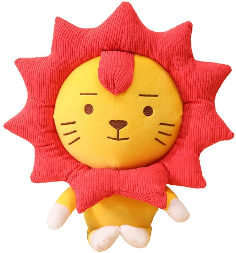BOZHONG Plush Toys, Plush Stuffed Animal Toys, Lion Doll Cloud Pillow Doll Gift (Lion,50cm)