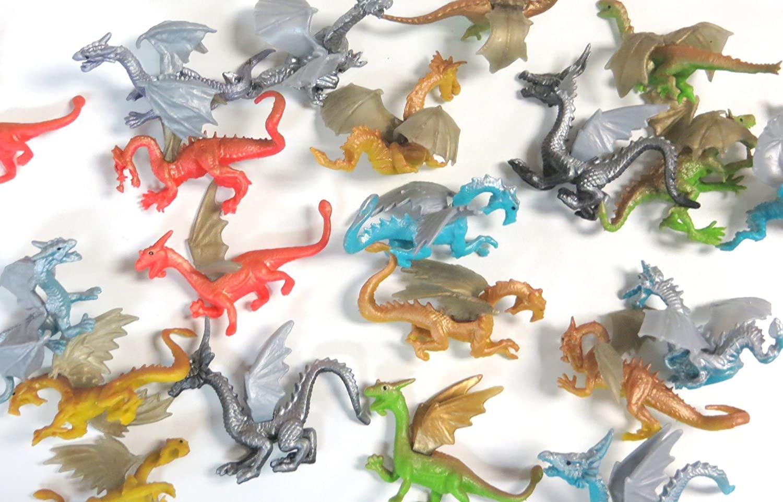 Edison Novelty Vinyl Dragon Figures (20)