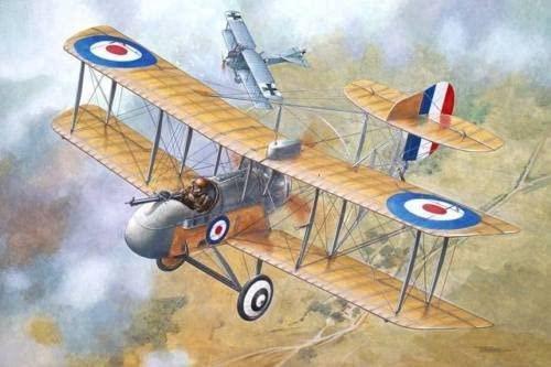 Roden DE Havilland Airco DH.2 British Fighter Biplane WWI 1/32 612