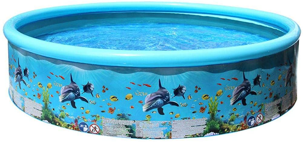 Family Inflatable Swimming Pool,Household Baby Wear-Resistant Thick Marine Ball Pool for Baby, Kiddie, Kids, Infant, Toddlers - Various Sizes