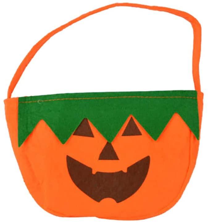Printasaurus Halloween Pumpkin Candy Bag Kid's Witch Trick Treat Handbag Children Storage Bag Toys and Hobbies Novelty Funny Toys