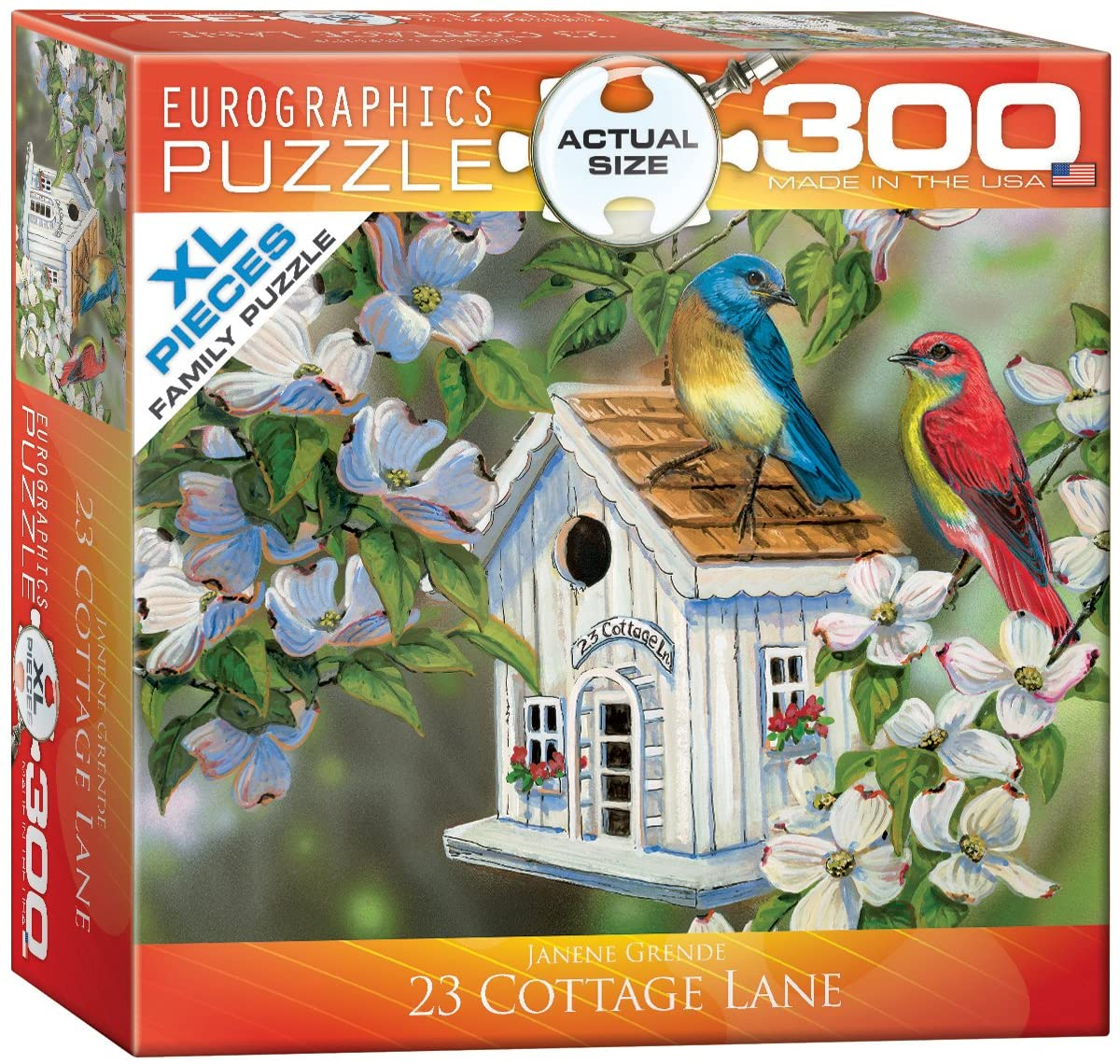 EuroGraphics 23 Cottage Lane Puzzle (300-Piece)