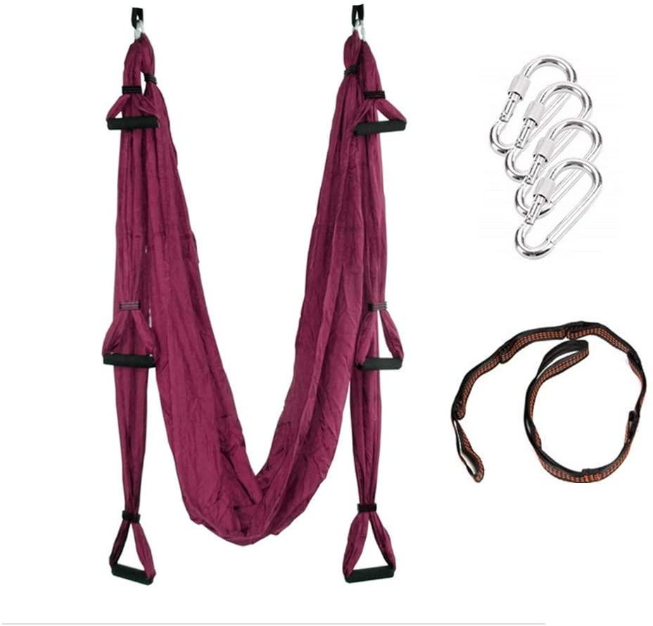 Karriw Aerial Anti-Gravity Yoga Hammock Swing Fitness Inversion Pilates/Yoga Swing/Sling/Inversion Tool