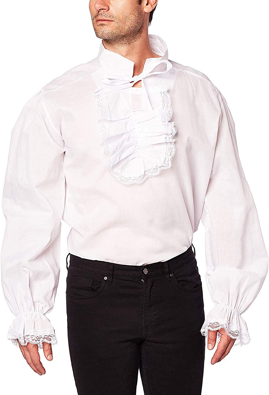 Forum Novelties Ruffled Colonial Costume Shirt