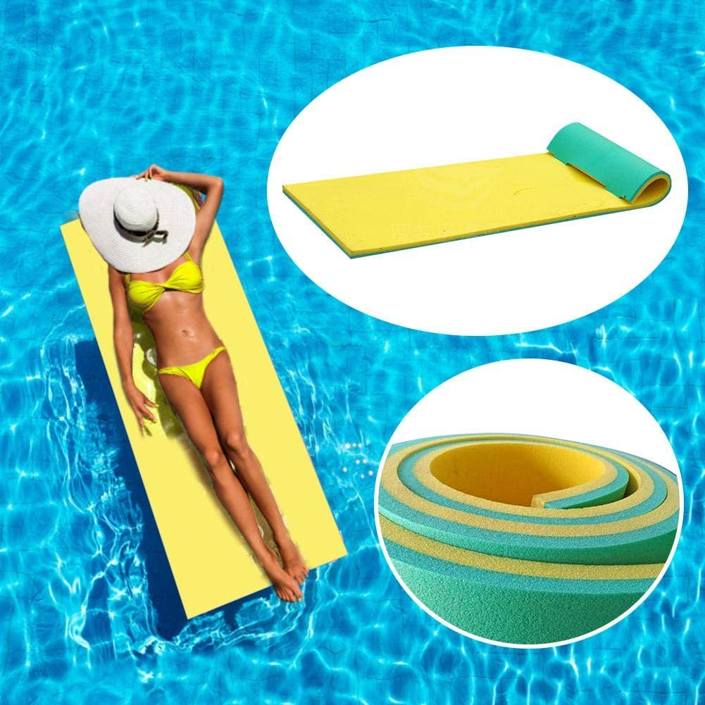 Pool Float - Multi-Purpose Pool Hammock Pool Chair, Water Hammock, Water Blanket, Water Floating Bed, Smooth Soft Comfortable Water Float Mat for Sunbathing Water Sports Picnics