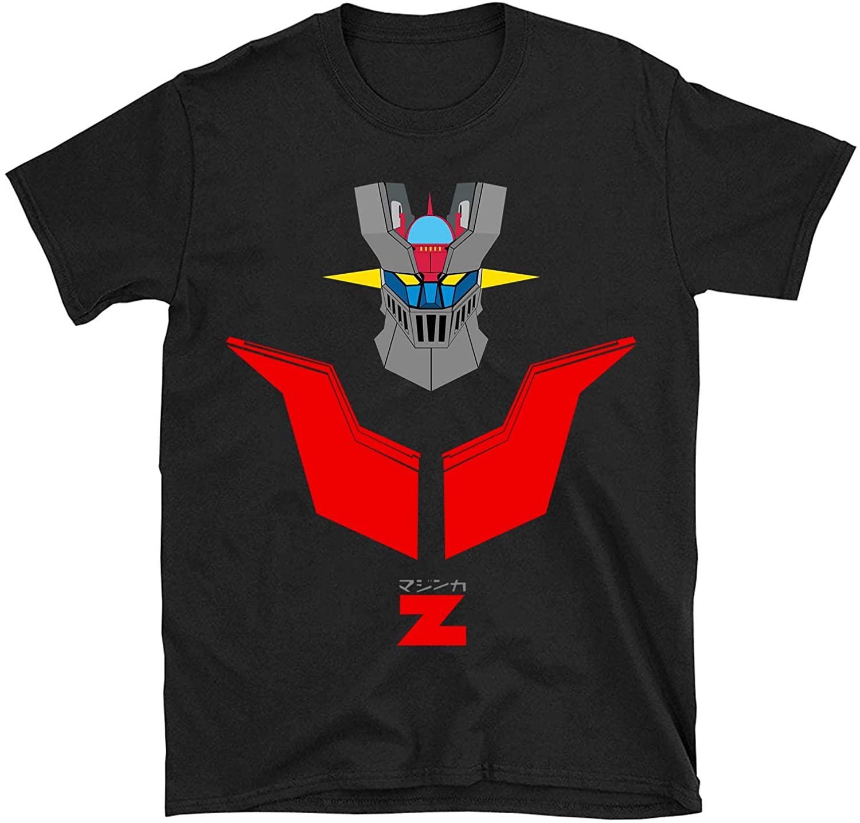 Moc.Deamiarr Mazinger z Shirt Mens Cool wear Fashion T-Shirt Tops Black