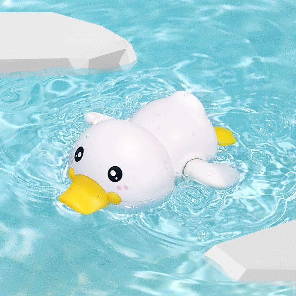 Baby Bath Swimming Bath Pool Toy Cute Wind Up Animal Bath Toys Set
