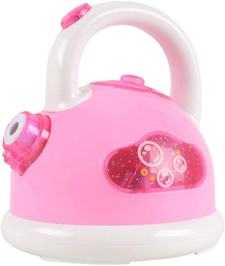 Gowersdee Children's Electric Kettle Bubble Machine One-Button Automatic Bubble Machine Toys Bubble Blower for Party Favors Summer Toy Outdoors Birthday Gift