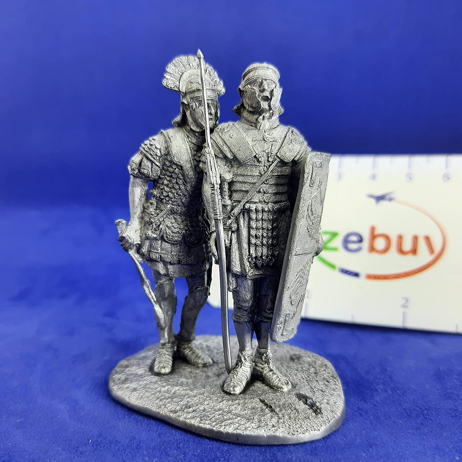 Domine Sí Domine Ancient Rome 1-2nd Centuries AD 1/32 Scale Unpainted Tin Figure Ancient Rome Handmade Collectible Miniature