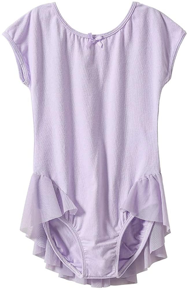STARFLOWER Girls' Leotard Raglan Cap Sleeve - Dance, Gymnastics, Ballet,Tagless, Cotton.