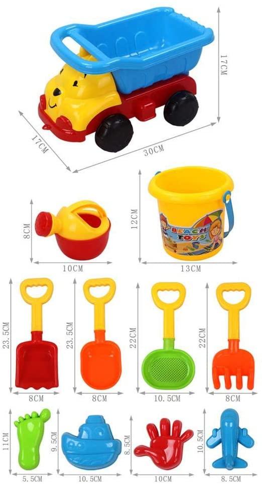Children's Beach Digging Toys Summer Outdoor Beach Digging Shovel Set Winter Snow Shovel Kit