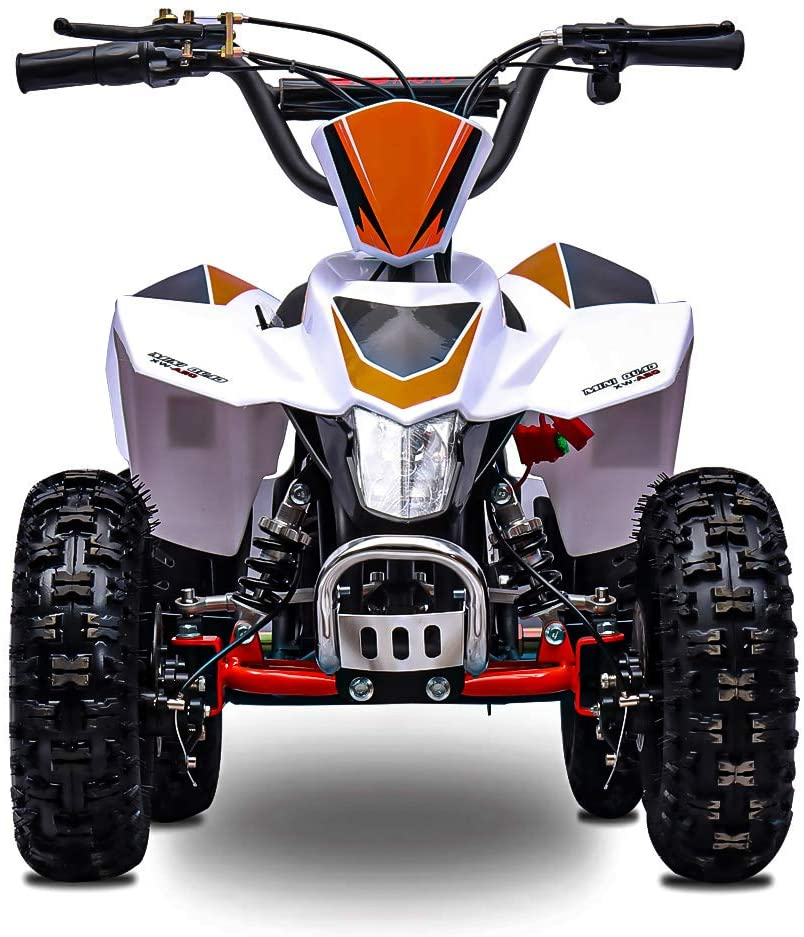 Fit Right 2020 Sahara Kids 24V Mini Quad ATV, Dirt Motor Electric Four Wheeler Parental Speed Control, with 350W Motor Power Reserve, Large Tires & Wide Suspension