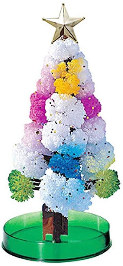 IRRIT New Magic Crystal Growing Tree can Blossom Children DIY Handmade Educational Novelty Xmas Toy 10ml