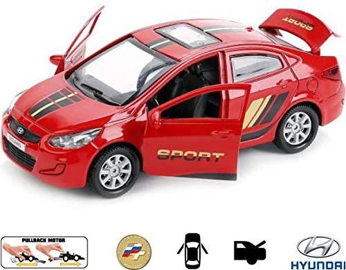 Russian Toys Diecast Metal Model Car Hundai Solaris Sport Toy Die-cast Cars