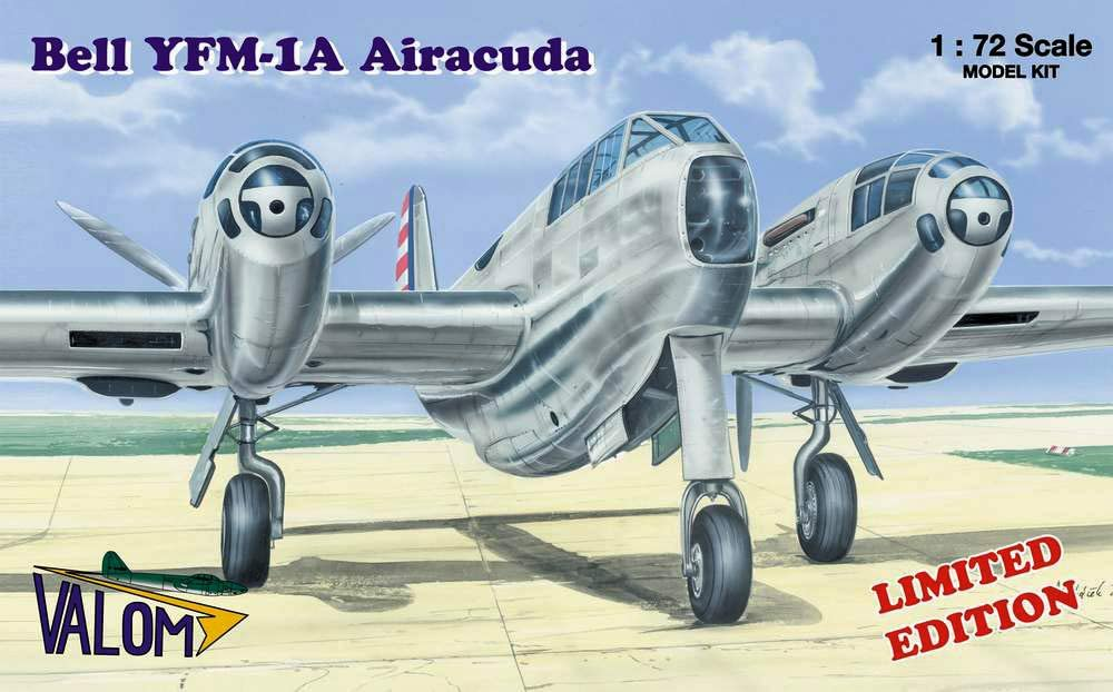 Valom 1/72 Scale Bell YFM-1A Airacuda - Plastic Model Building Kit # 72022