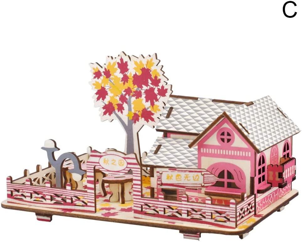 oAtm0eBcl IQ Builder  Challenging IQ Games丨Kids Children Mini Cabin House Sky Wheel Model 3D Jigsaw Puzzle Game DIY Toy丨Mental Exercises for Sharp Young Minds - 100% Child Safe … C
