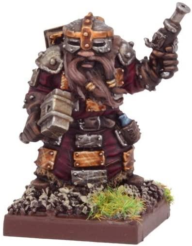 Mantic Games MGKWD102 Dwarf Warsmith Miniature Model