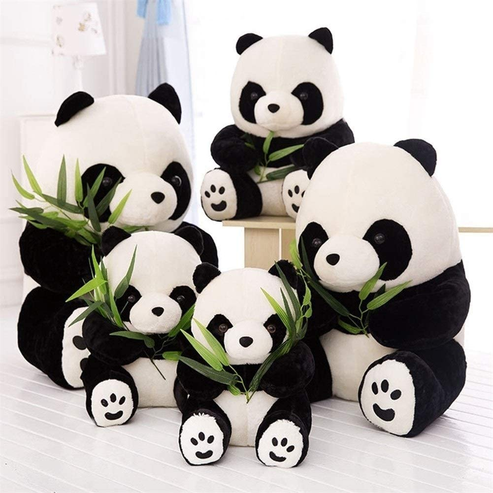 Yuncheng Baby Gift Toy Plush Toy Plush Doll Figurine Toy Pet Pillow Animal, 9-16cm 1Pc Panda Doll Plush Toy Baby Bear Pillow Panda Cloth Doll Kids Toys Baby Birthday Gift for Children (Size : 10cm)
