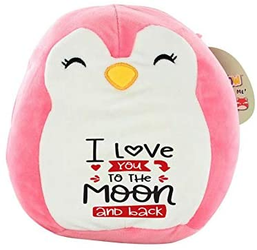 Squishmallow I Love You to The Moon and Back! Pre-Customized Original Kellytoy 8