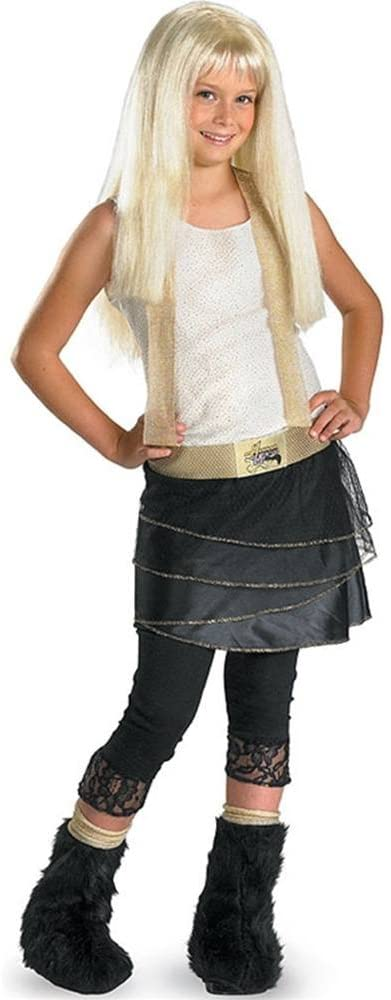 Hannah Montana with Wig Deluxe Costume: Girls Size 7-8