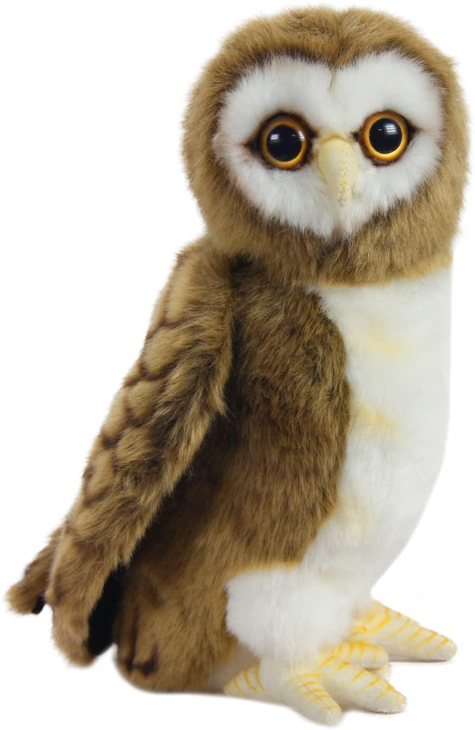 HANSA Owl Brown Plush, 9