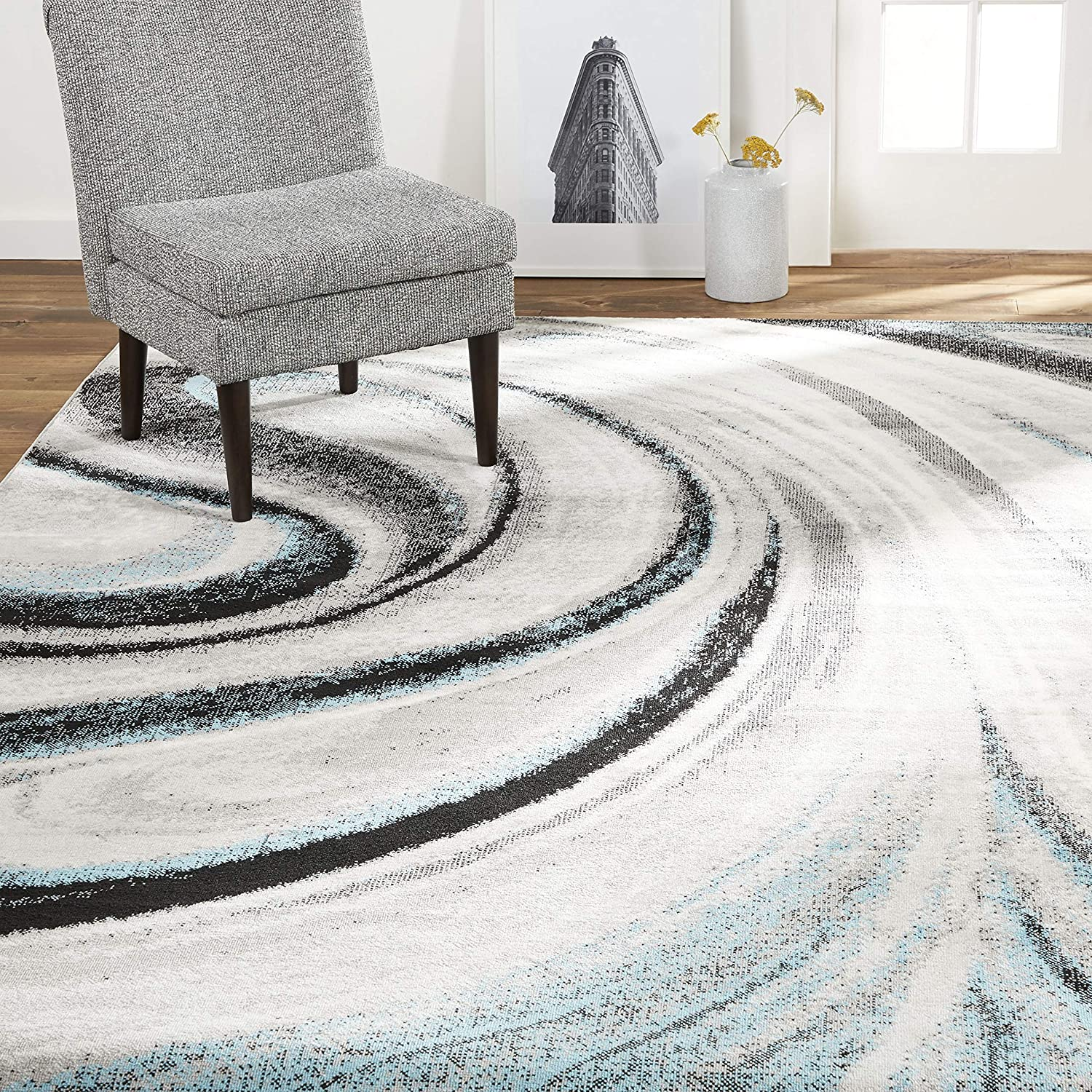 Home Dynamix Modern Abstract Area Rug, 7'9