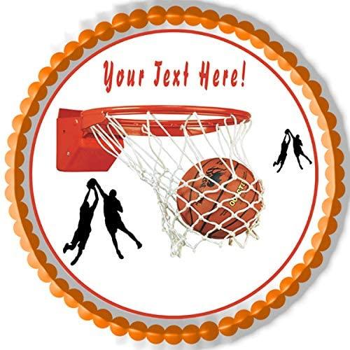 Basketball - Edible Cake Topper - 10