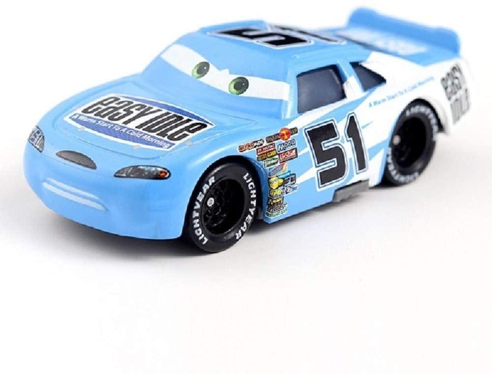 Children's car Gift, Metal Paint Gold Chrome McQueen Metal die-cast Toy car Lightning McQueen (7)