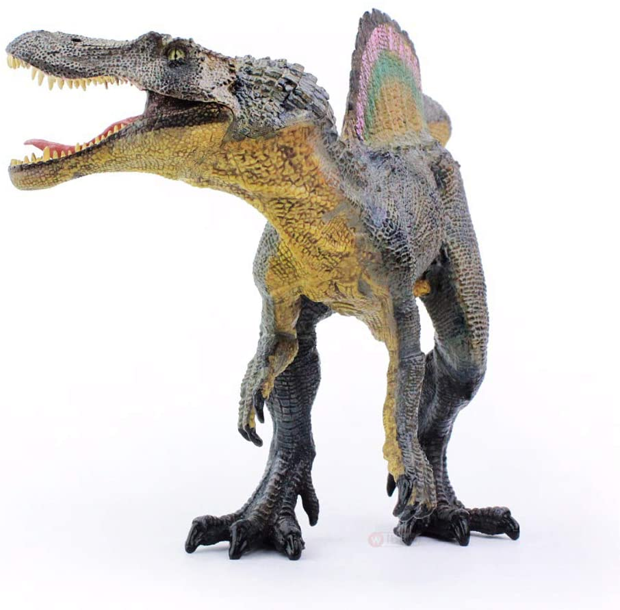 Gemini&Genius Spinosaurus Jurassic World Park Dinosaurs Early Science Education and Collectible Action Figures Toys as Gifts for Kids Children and Party Supplies