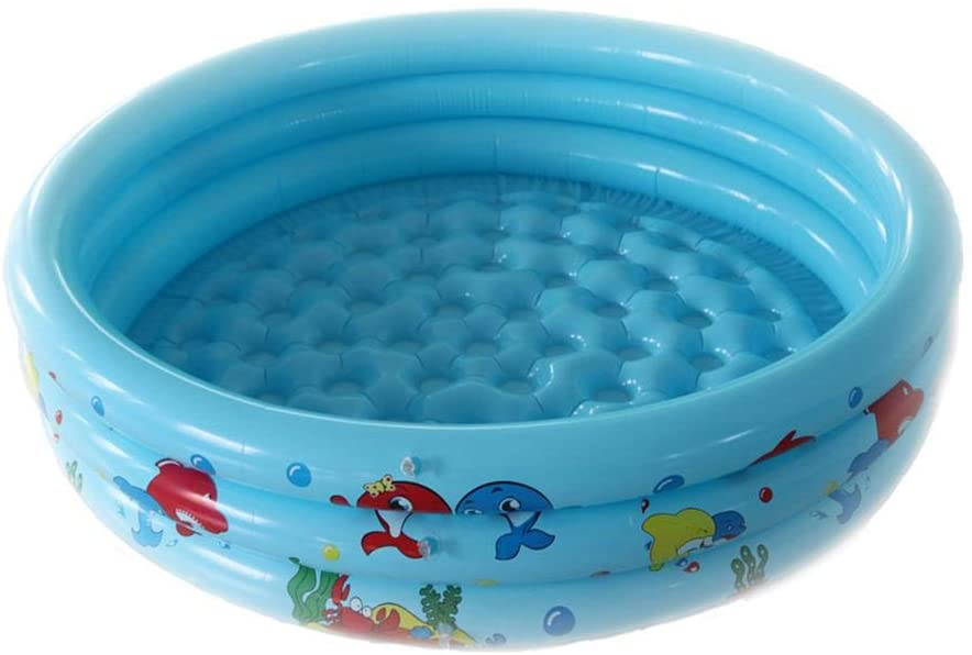 Inflatable Swimming Pool, Inflatable Kiddie Pools Kid Blow Up Pool for Baby Children, Baby Pool Inflatable Pool Safe Summer Water Party Supply for Kids Adult, 90x25cm