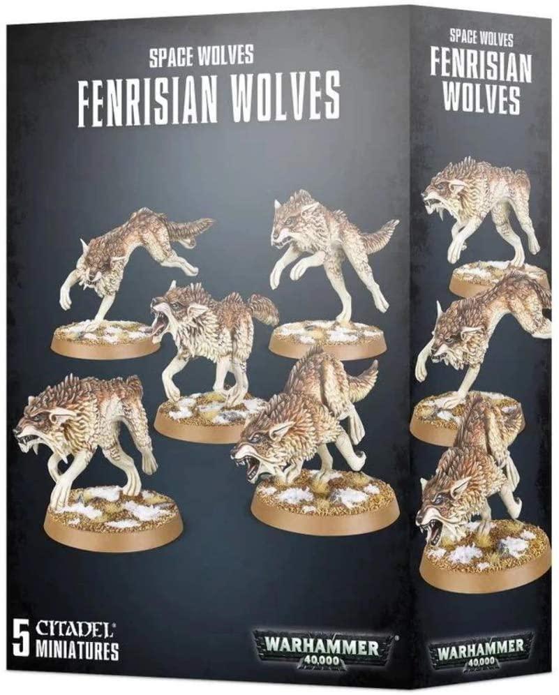 Games Workshop Warhammer 40k: Space Wolves - Fenrisian Wolves