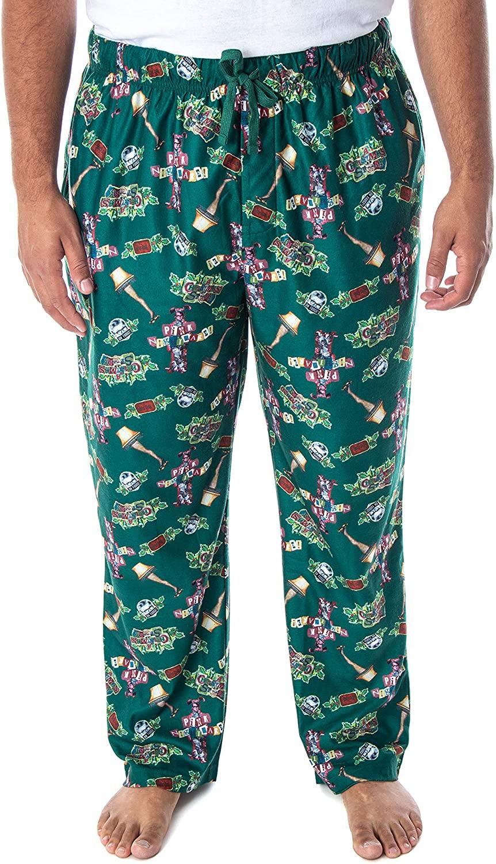 INTIMO A Christmas Story Mens Movie Inspired Allover Print Design Lounge Sleep Pajama Pants