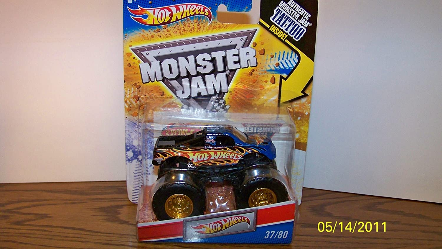 Hot Wheels Monster Jam Tattoo Series Hot Wheels Truck 1/64 Scale #37/80