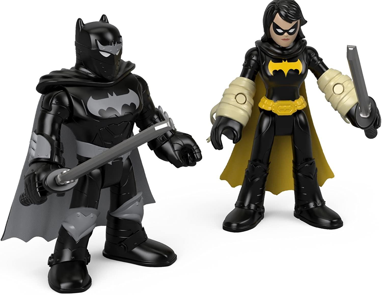 Fisher-Price Imaginext DC Super Friends, Black Bat & Ninja Batman