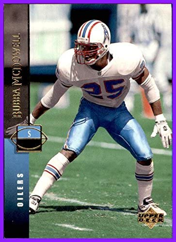 1994 Upper Deck #161 Bubba McDowell HOUSTON OILERS MIAMI HURRICANES