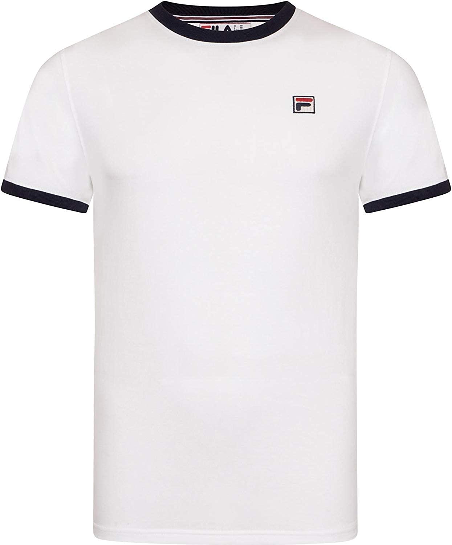 FILA VINTAGE Marconi T-Shirt   White
