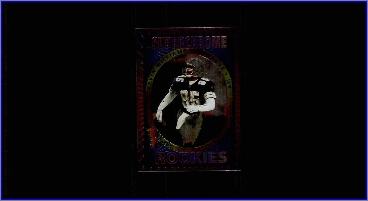 1993 Wild Card Superchrome Rookies #19 Kevin Williams DALLAS COWBOYS MIAMI HURRICANES