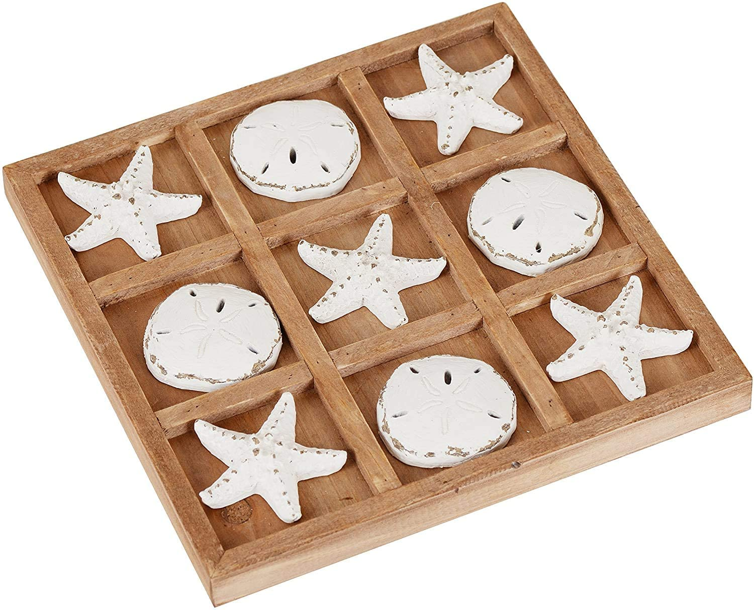 Wood Board Travel Game Tic Tac Toe