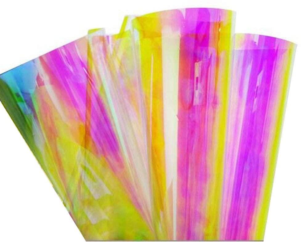 HOHOFILM Colorful Chameleon Window Film Self-Adhesive Decorative Glass Vinyl One Way Window Tint 54