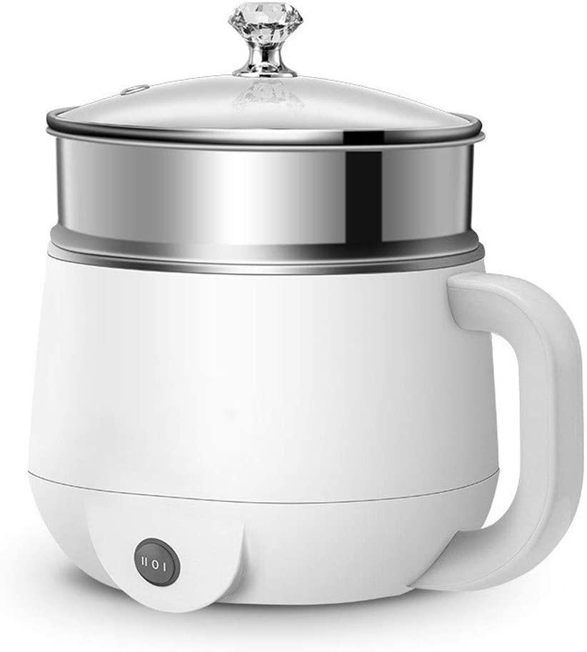 Yyijun-dianfguo Rice Cooker, Multifunctional Electric Hot Pot Electric Food Steamer Heating Cup Stainless Steel Rice Cooker Steamer Food Cooker (Color : 2)