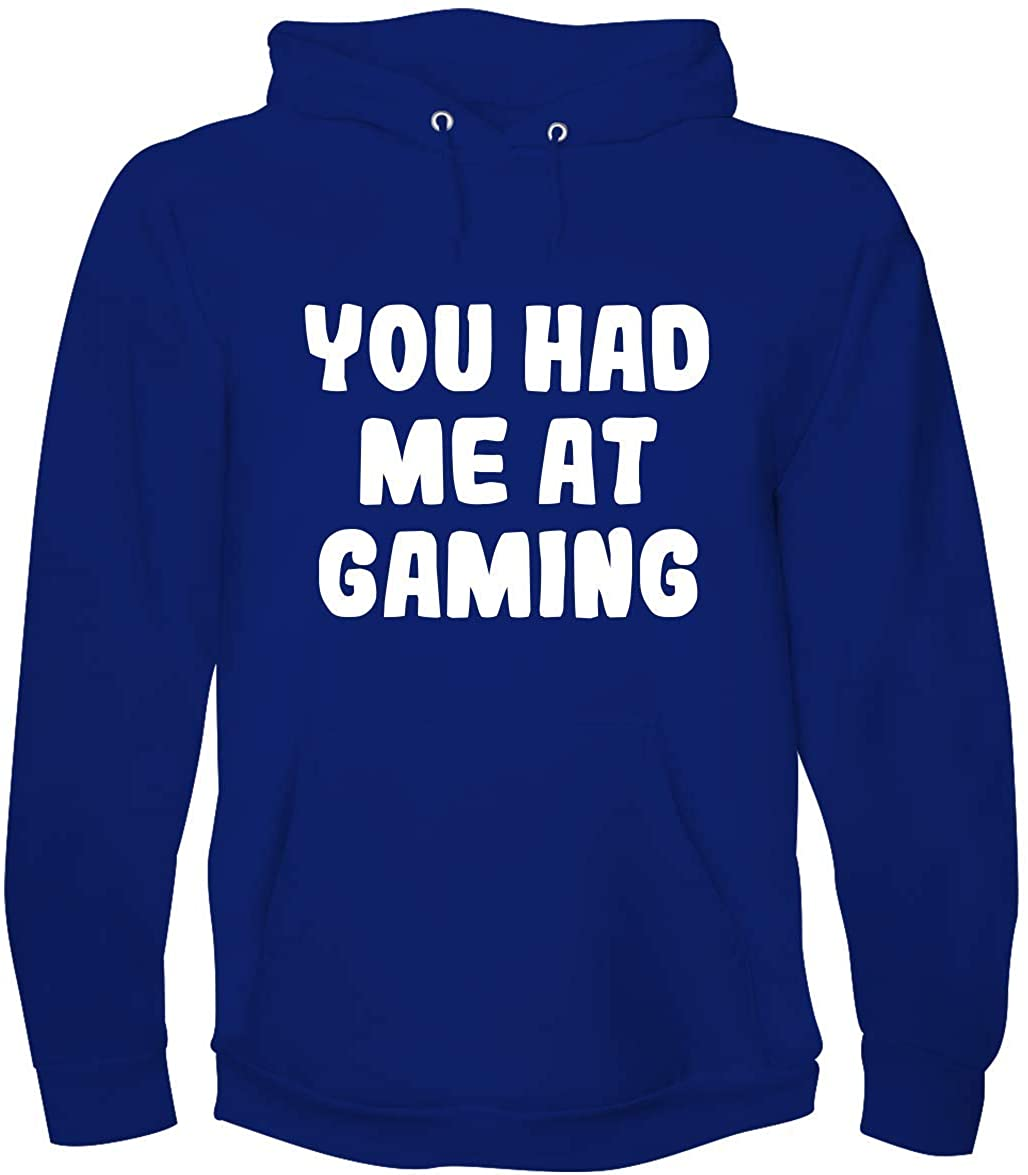 You Had Me At GAMING - A Soft & Comfortable Men's Hoodie Sweatshirt